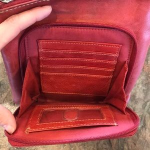 Fossil Bags - Red Fossil crossbody